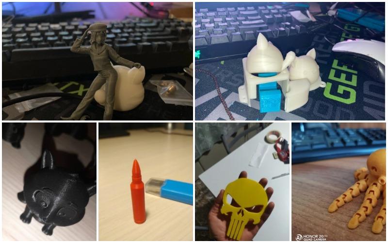 Longer LK4 3D Printer работы
