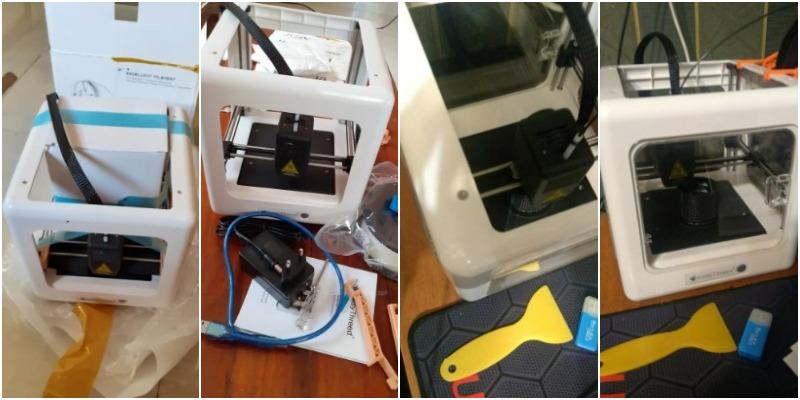 Easythreed Nano 3DDYJ-2A001 работы