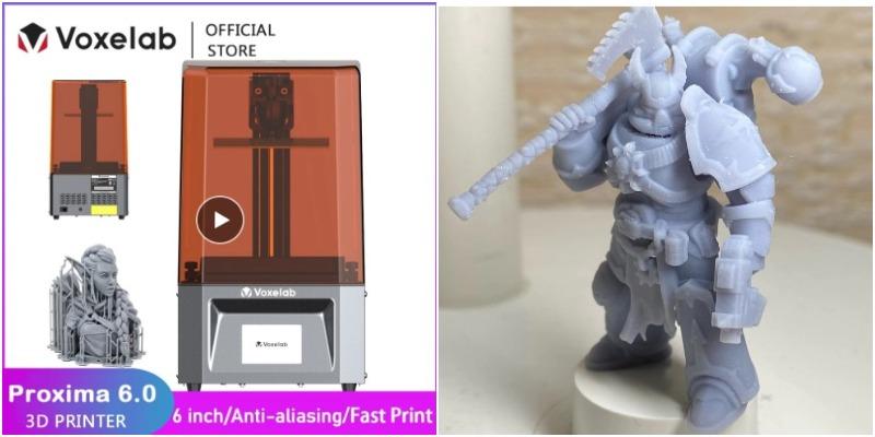 китайский принтер 3д Flash forge Proxima 6 in