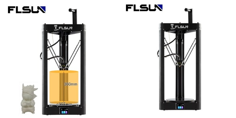 Flsun QQ-S 3D printer с алиэкспресс