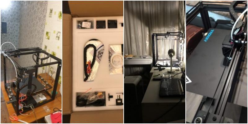 3Д принтер Tronxy X5SA 24V с алиэкспресс