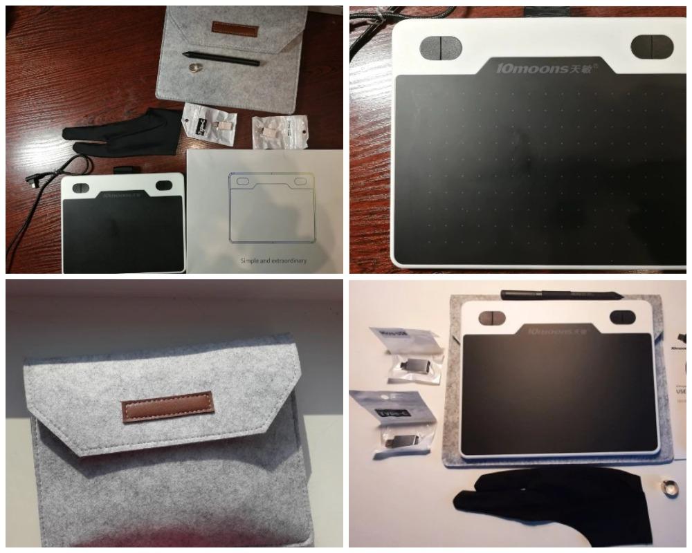 10moons 6 дюймов графический планшет из китая
