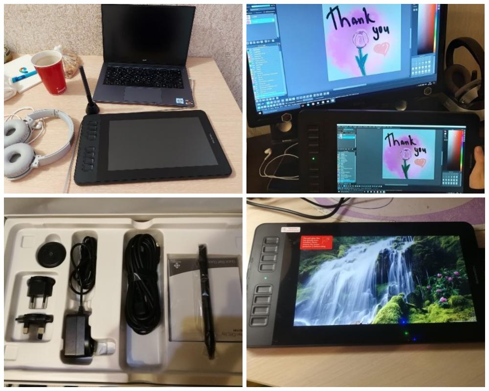 GAOMON PD1161 ips HD графический планшет обзор