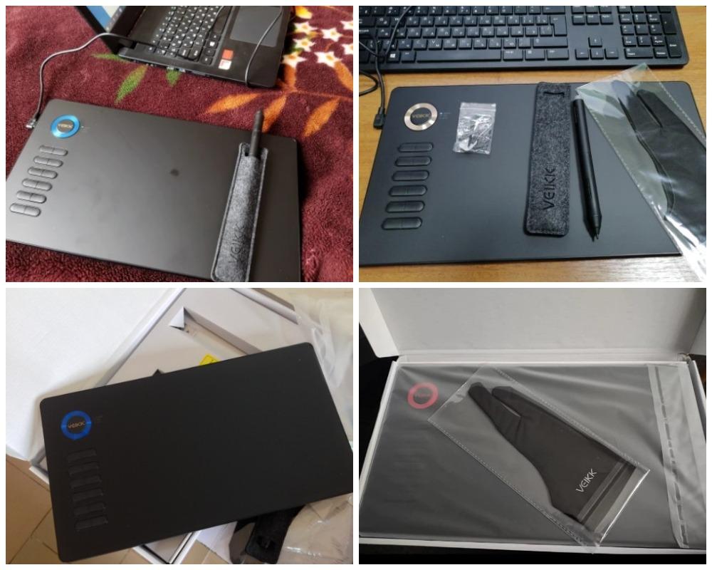 Графический планшет VEIKK A15 с Алиэкспресс