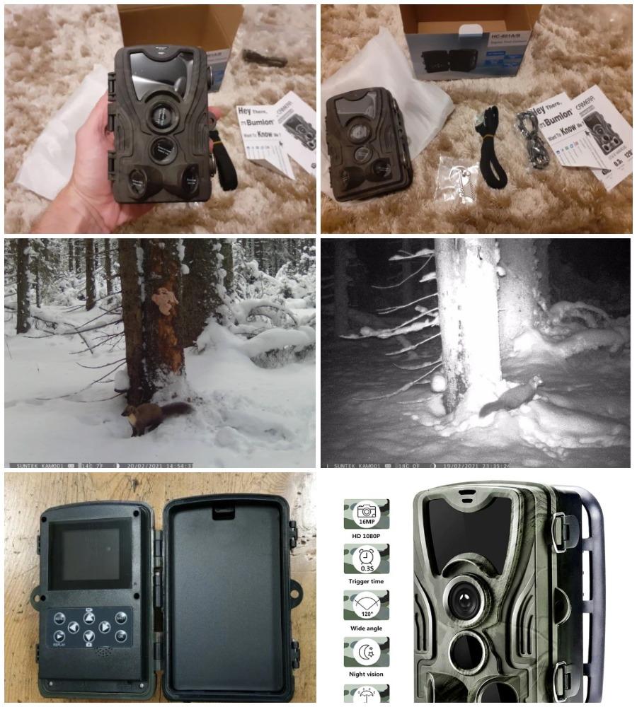 HC801A камера для дикой природы с Алиэкспресс