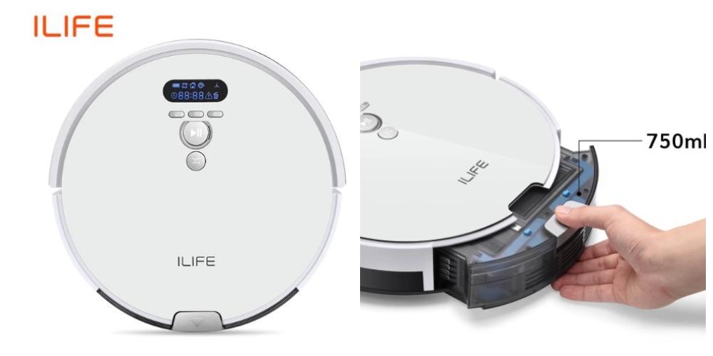 ILIFE V8s робот пылесос с алиэкспресс