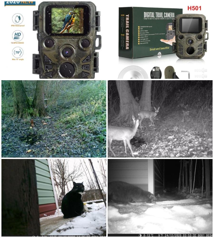 Мини-камера для охоты из Китая
