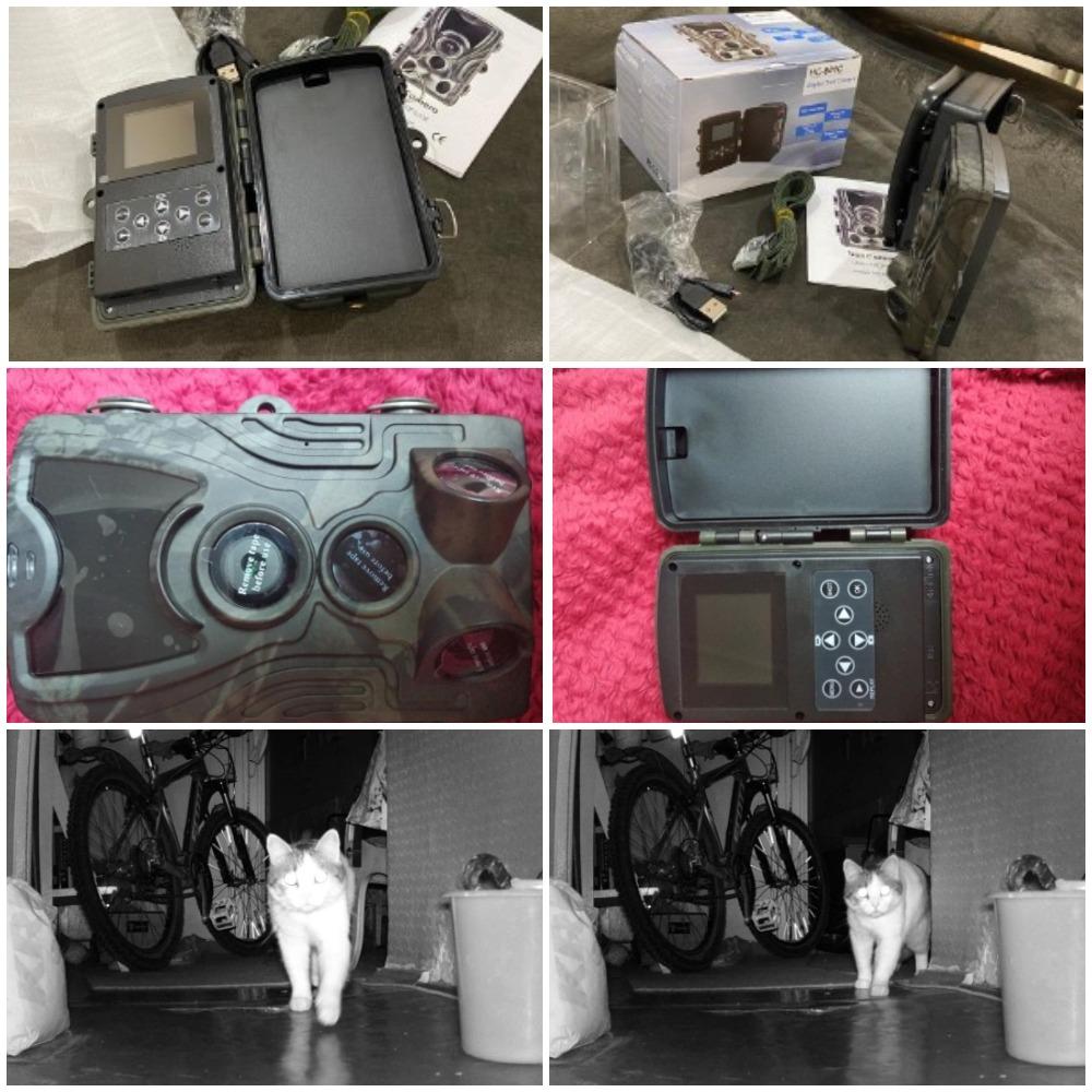 Охотничья камера Goujxcy HC801 с Алиэкспресс