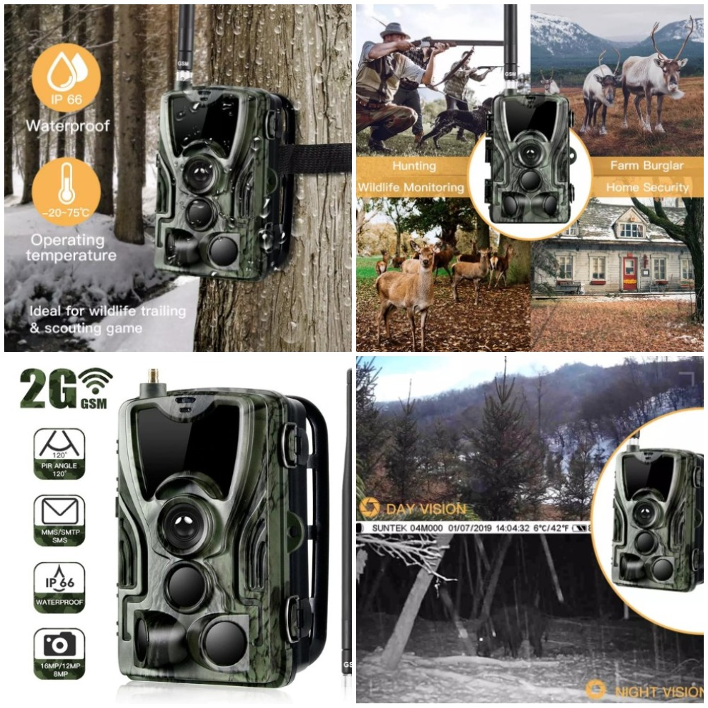 Охотничья камера HC801 с Aliexpress