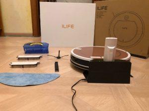 робот пылесос ILIFE V7s Plus с алиэкспресс