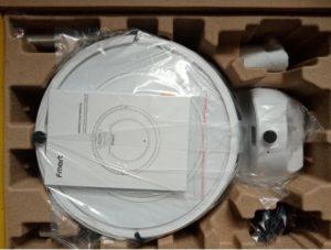 робот пылесос Fmart E-R550W(S) с алиэкспресс