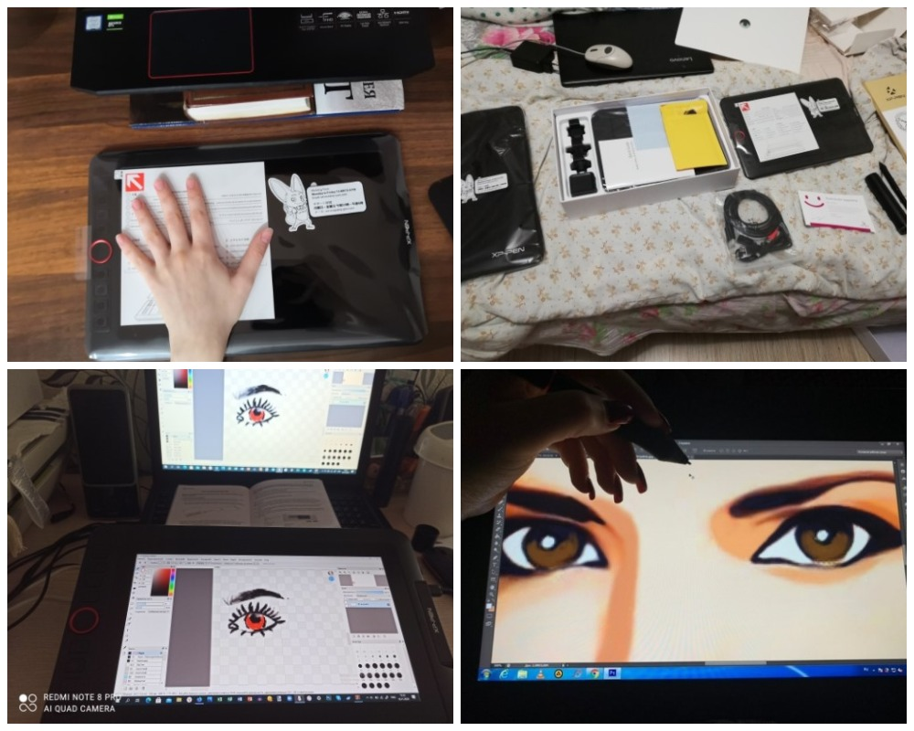 XP-Pen Artist 12 Pro планшет с Aliexpress