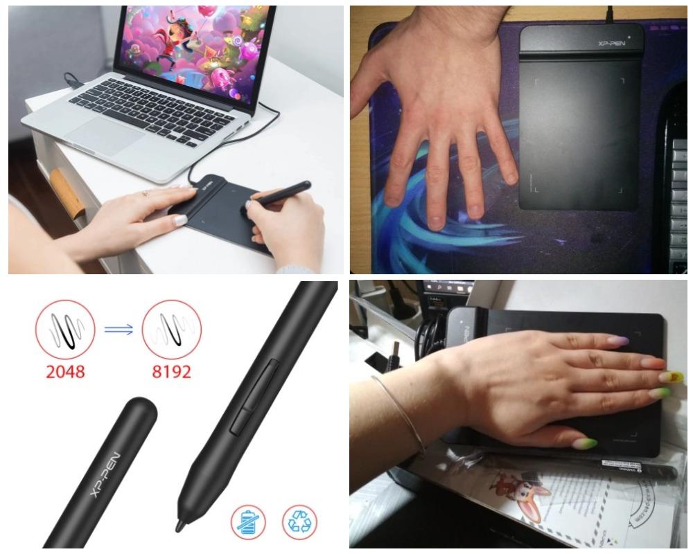 XP-Pen G430S графический планшет с Али